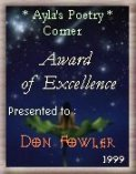 [Award of Excellence (Ayla's)]