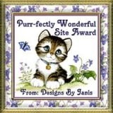 [Designs by Janis Purr-fectly Wonderful Award]