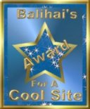 [Balihai's Award for a Cool Site]