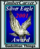 [Timber Carver's Silver Eagle Award]