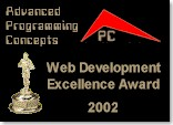 [APC Web Development Excellence Award]
