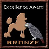 [Bronze Poodle and Parrot Award]