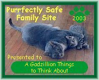 [Purrfectly Family Safe Family Site Award]